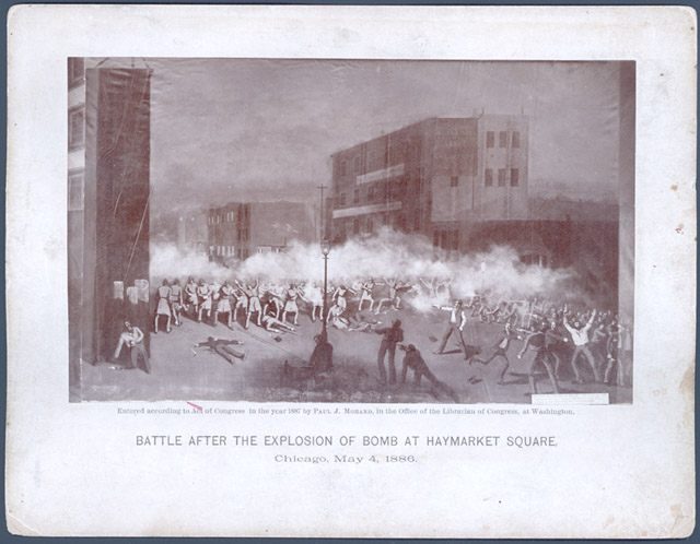 a history of the massacre in chicagos haymarker square